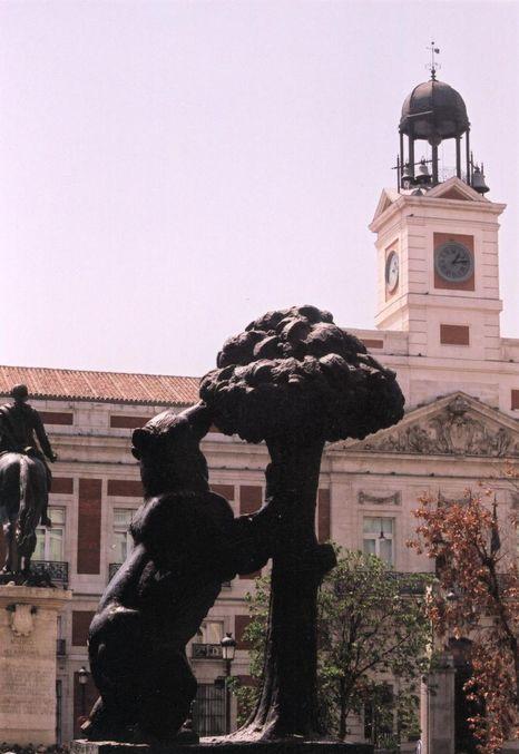 Espagne 2001 Places De Madrid